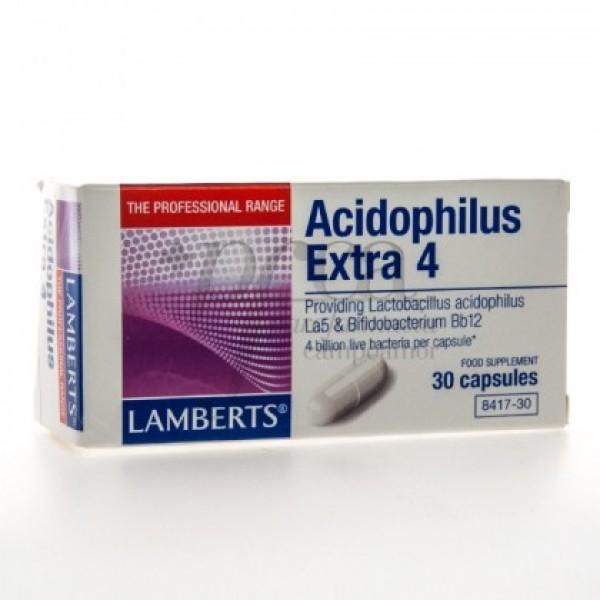 ACIDOPHILUS EXTRA 4 30 CAPS