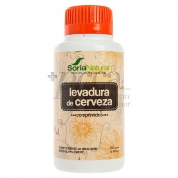 LEVADURA DE CERVEZA 500 COMPS