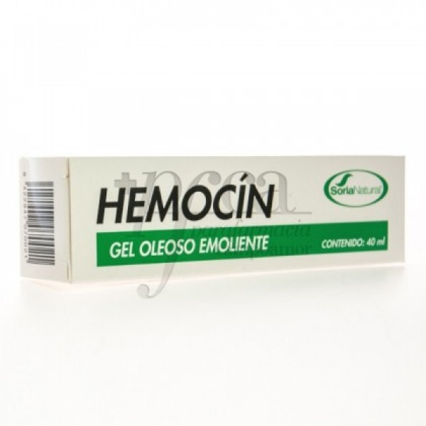 HEMOCIN GEL OLEOSO EMOLIENTE 40ML SORIA NATURAL