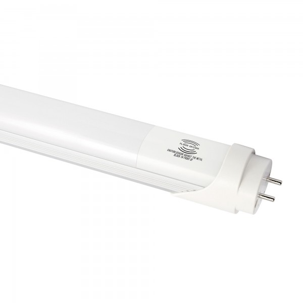 Fluores.led sensor aluminio 150cm.25w.ne