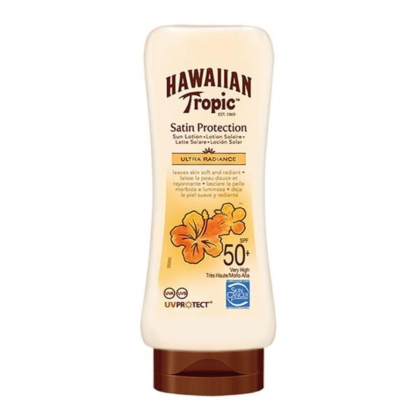 Hawaiian tropic satin protection ultra radiance spf50+ cream 180ml