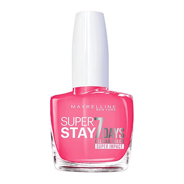 Maybelline superstay 7days superimpact nail color 886 fucshia
