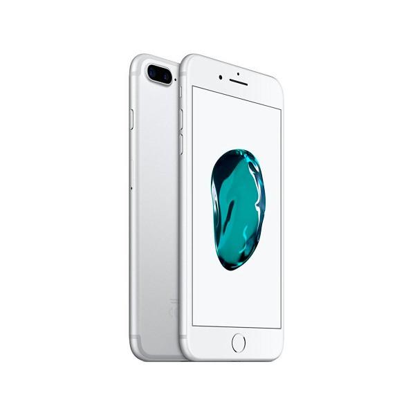 Apple iphone 7 plus 256gb plata reacondicionado cpo móvil 4g 5.5'' retina fhd/4core/256gb/3gb ram/12mp+12mp/7mp