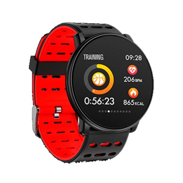 Innjoo rojo redondo sportwatch tft 1.33'' reloj inteligente deportivo bluetooth