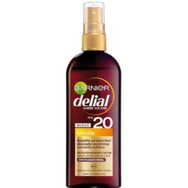 Delial Aceite Protector dorado SPF 20 150 ml