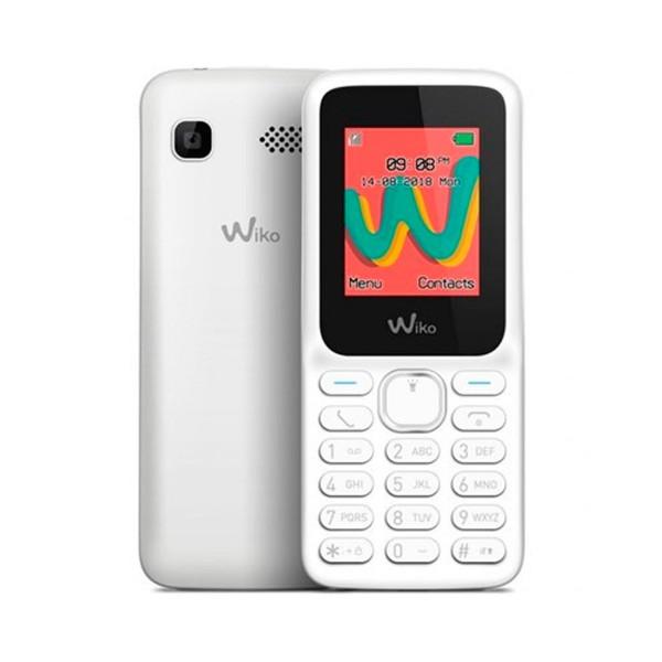 Wiko lubi5 plus blanco móvil senior dual sim 1.8'' cámara bluetooth ranura microsd
