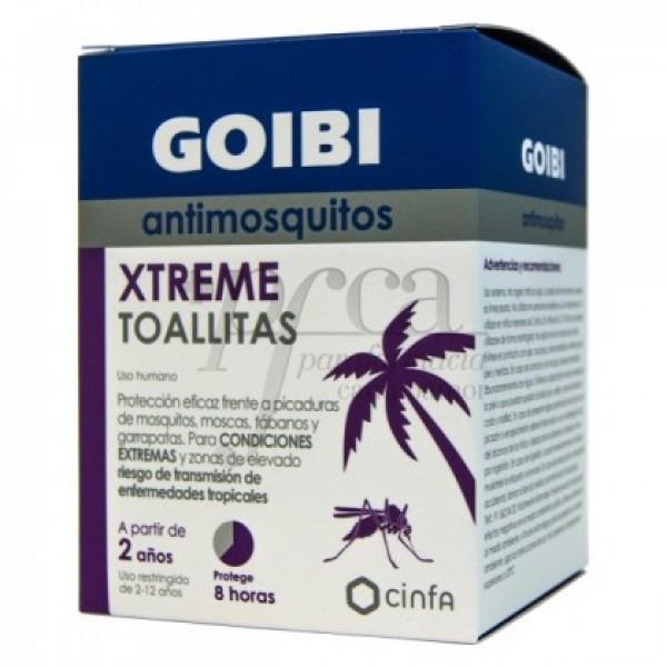 GOIBI XTREME TOALLITAS ANTIMOSQUITOS 16U