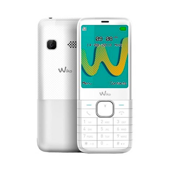 Wiko riff3 plus blanco móvil senior dual sim 2.4'' cámara vga bluetooth radio fm