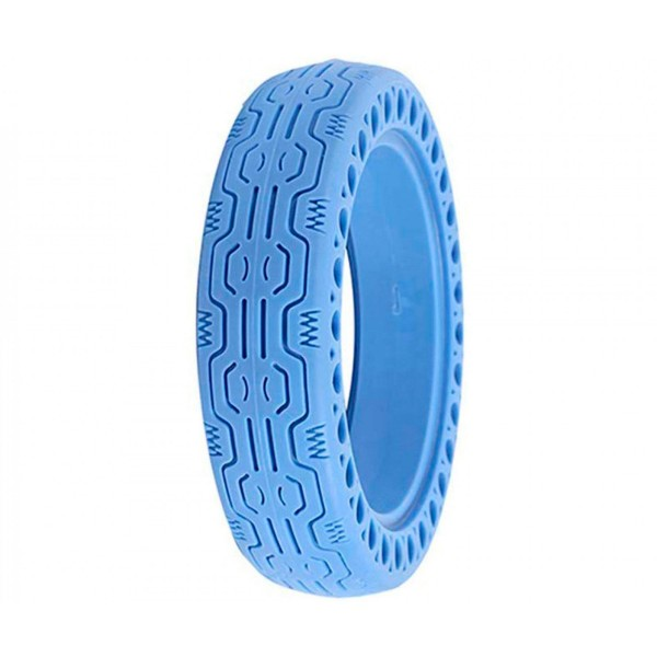 Whinck nduro azul neumático sólido 8.5'' para xiaomi mija