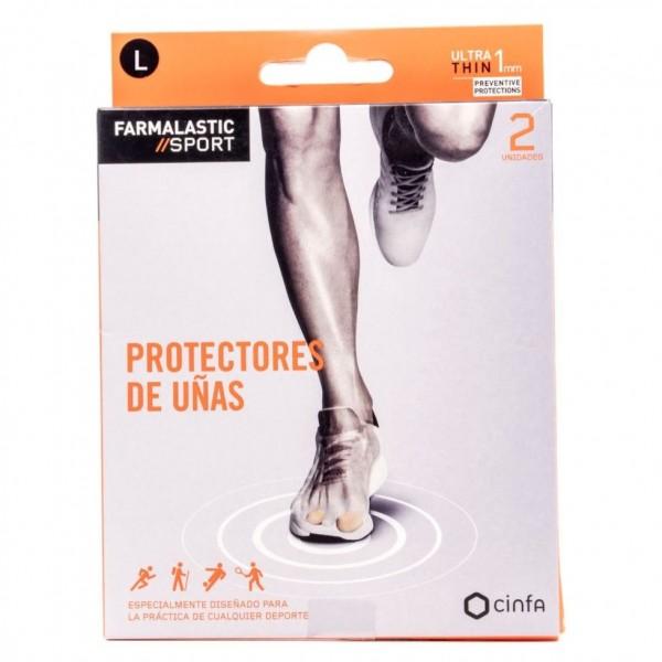 FARMALASTIC SPORT 2 PROTECTORES DE UÑAS T/L
