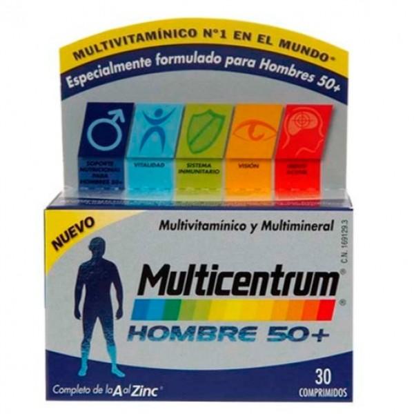 MULTICENTRUM HOMBRE 50+ 30 COMPS