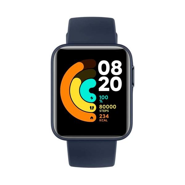 Xiaomi mi watch lite azul 1.4'' frecuencia cardíaca sueño respiración 5atm gps