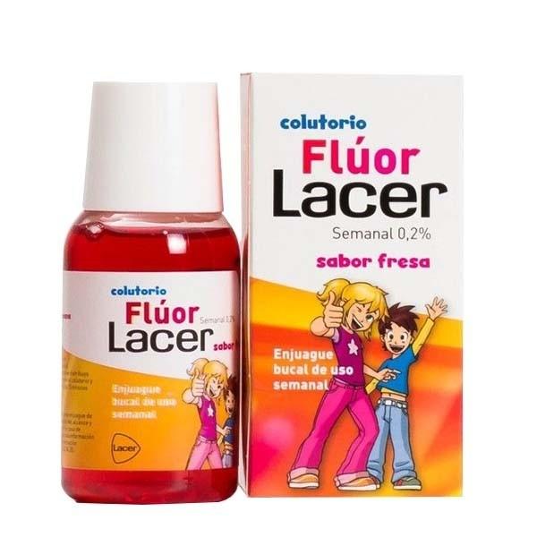 LACER FLUOR 0,2 COLUTORIO SEMANAL FRESA 100ML