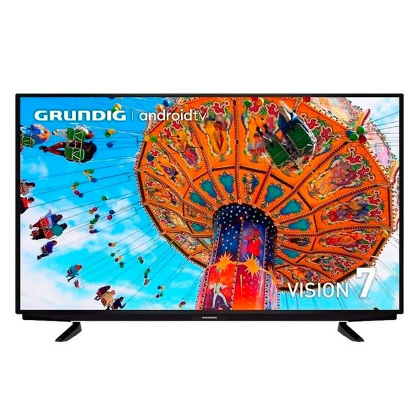 Grundig 55gfu7960b tv 55'' led 4k/ uhd 4k/android tv/chromecast/asistente de google