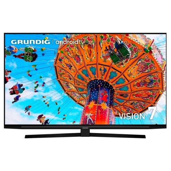 Grundig 65gfu7990b tv 65'' led 4k/ uhd 4k/android tv/chromecast/asistente de google