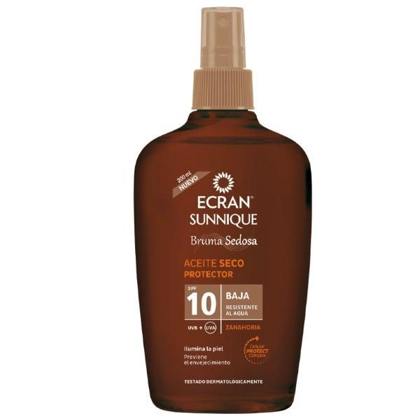 Ecran Sunnique aceite protector SPF10 200 ml