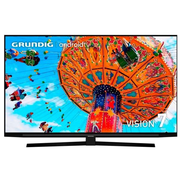Grundig 55gfu7990b tv 55'' led 4k/ uhd 4k/android tv/chromecast/asistente de google