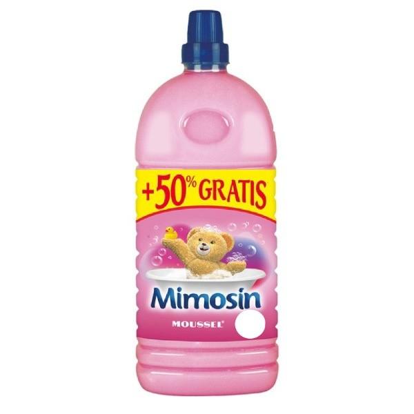 Mimosin suavizante Moussel 58 lavados + 29 GRATIS